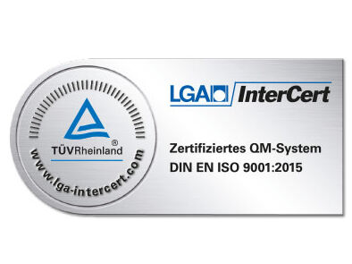 LGA InterCert Siegel